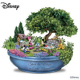 Disney Enchanting Moments Garden Sculpture