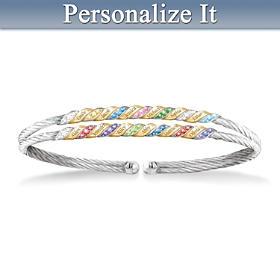 Family Pride & Joy Personalized Bracelet