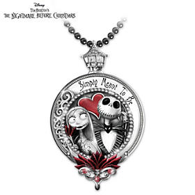 Jack And Sally Pendant Necklace