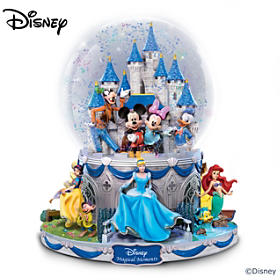 Disney Magical Moments Glitter Globe