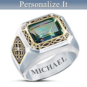 The Legend Of Ireland Personalized Ring