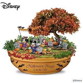 Disney Halloween Magic Garden Sculpture