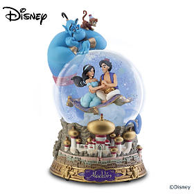 Disney Aladdin Glitter Globe