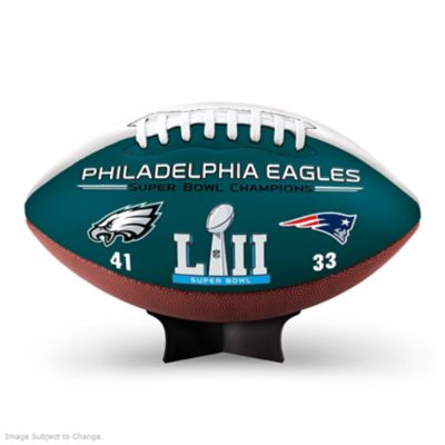 Eagles Super Bowl LII Champions Commemorative Football by