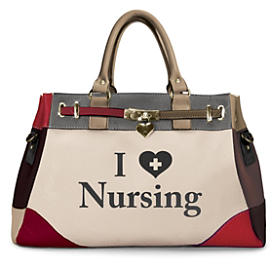 I Love Nursing Handbag
