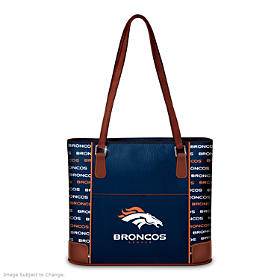 Denver Broncos Tote Bag