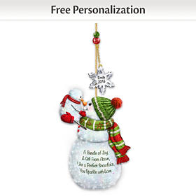 My Merry First Christmas Personalized Ornament