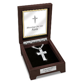 Blessed Son Pendant Necklace
