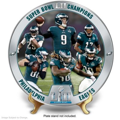 Eagles Super Bowl LII Champions Porcelain Collector Plate by