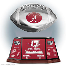 Crimson Tide 2017 Football National Champions Sculpture