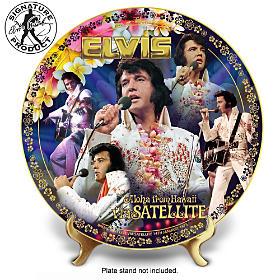 Elvis Aloha From Hawaii Collector Plate