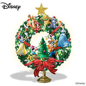 Disney's Holiday Joy Wreath