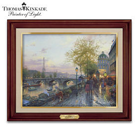Thomas Kinkade Paris, Eiffel Tower Wall Decor