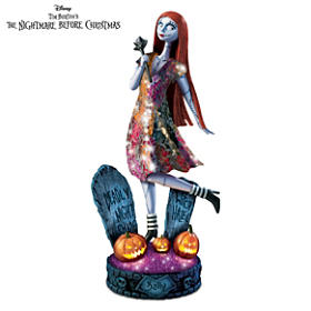 The Nightmare Before Christmas Moonlit Vision Sculpture
