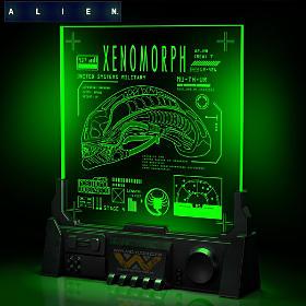 Alien LED Xenomorph Sculpture