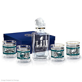 Philadelphia Eagles Super Bowl LII Champions Decanter Set