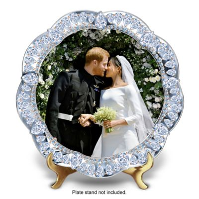Prince Harry & Meghan Markle Wedding Commemorative Plate by