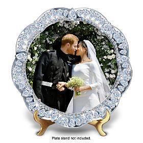 Prince Harry And Meghan Markle Royal Wedding Collector Plate