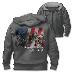 Fight For Freedom Men's Hoodie