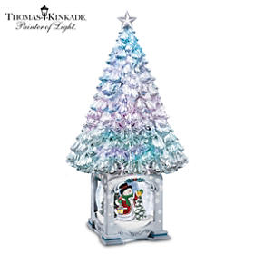 Thomas Kinkade The Magic Of The Season Tabletop Tree