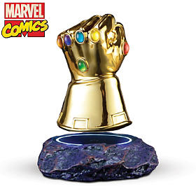 MARVEL Levitating Infinity Gauntlet Sculpture