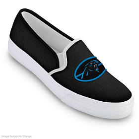 Carolina Panthers Fashion & Football Women's Shoes