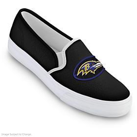 Baltimore Ravens Fashion & Football Women's Shoes