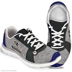 Winning Style Baltimore Ravens Women's Shoes