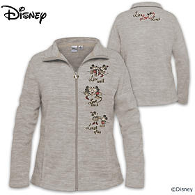 Disney Live, Laugh, Love Women's Jacket