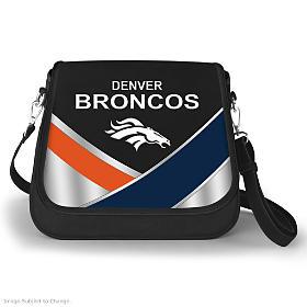 Denver Broncos Fashion Snap Handbag