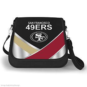 San Francisco 49ers Fashion Snap Handbag
