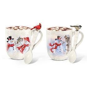 A Taste Of Winter's Warm Delights Mug Set