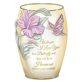 The Butterfly's Loving Message Lamp