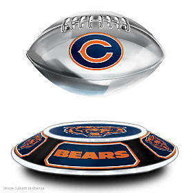 Chicago Bears Levitating Football Sculpture