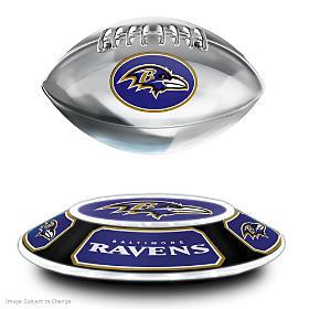 Baltimore Ravens Levitating Football Sculpture