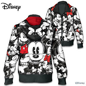 Disney Mickey Mouse And Minnie Mouse Women's Hoodie
