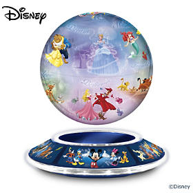 The Magic Of Disney Levitating Globe Sculpture