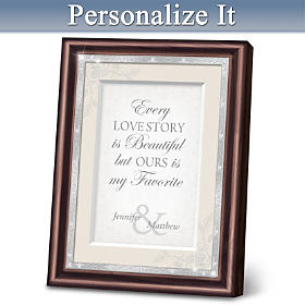 Love Story Personalized Wall Decor