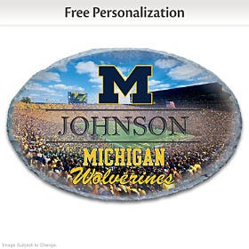 University Of Michigan Personalized Welcome Sign