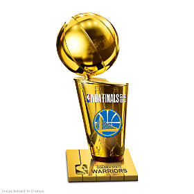 Golden State Warriors 2018 NBA Finals Champion Sculpture
