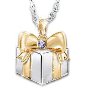 Mom's Greatest Gift Personalized Pendant Necklace