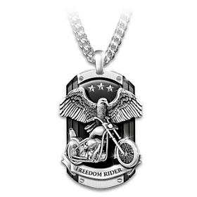 Freedom Rider Pendant Necklace