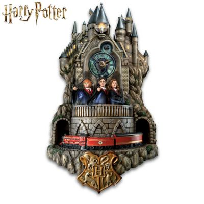 Harry Potter Fully Sculpted Illuminated Wall Clock