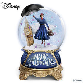 Disney Mary Poppins Returns Glitter Globe