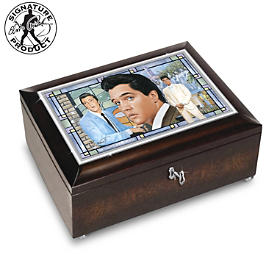 Elvis Presley Amazing Grace Music Box