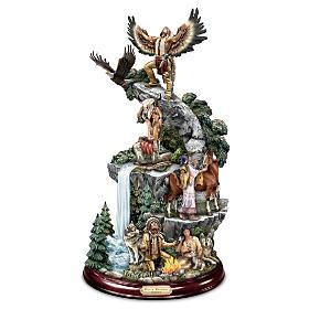 Mystic Mountain Journey Sculpture