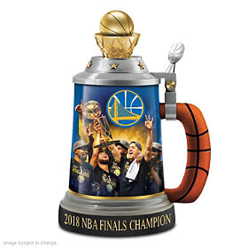 Golden State Warriors 2018 NBA Finals Champion Stein
