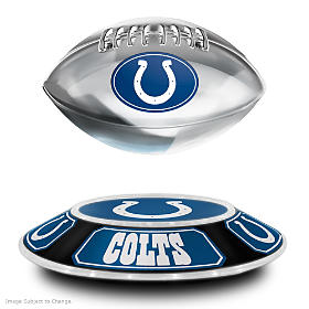 Indianapolis Colts Levitating Football Sculpture