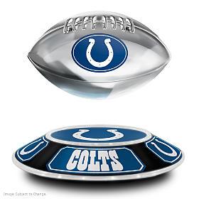 Indianapolis Colts Levitating Football Sculpture