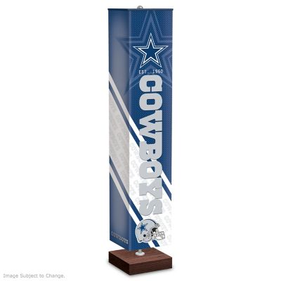 Dallas Cowboys Four Sided Floor Lamp
